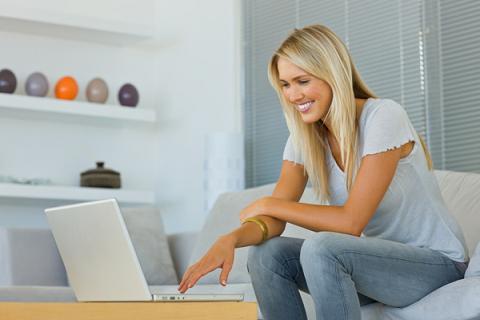 Женщина вебмастер