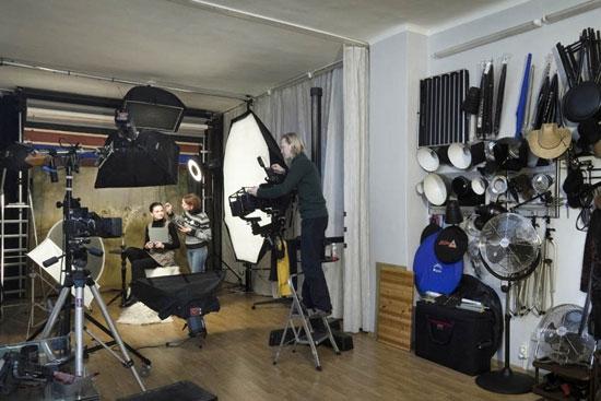 Фотостудия в домашних условиях