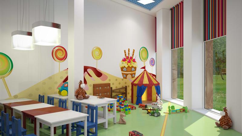 Уютный дизайн помещения