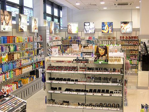 Фотографии магазина косметики