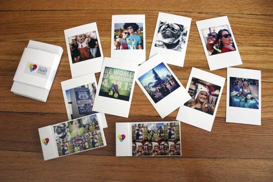 Распечатанные фото