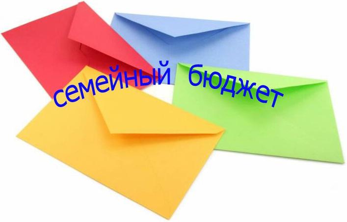 Как экономить деньги, используя 4 конверта?   экономия деньги бюджет
