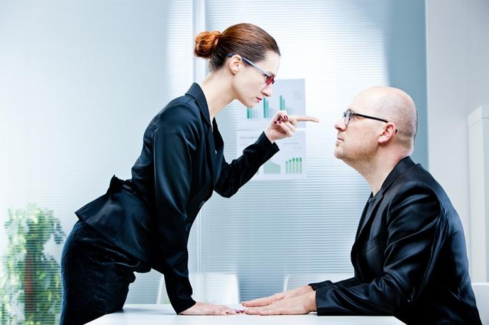 Спор с начальством