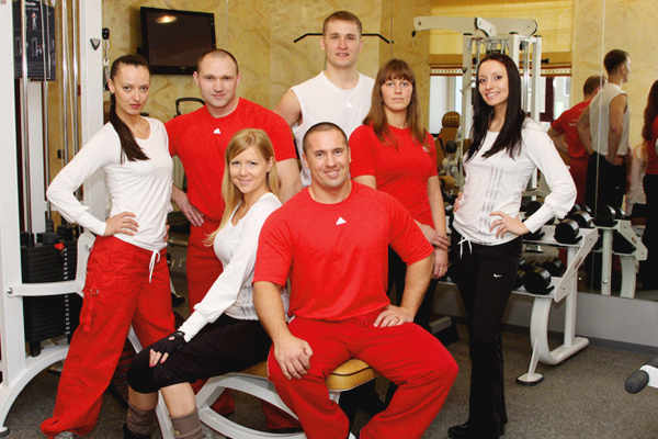 Персонал фитнес-центра