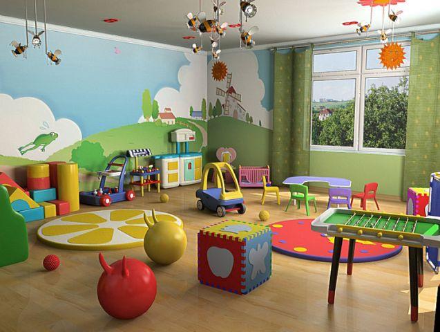 Интерьер детского учреждения