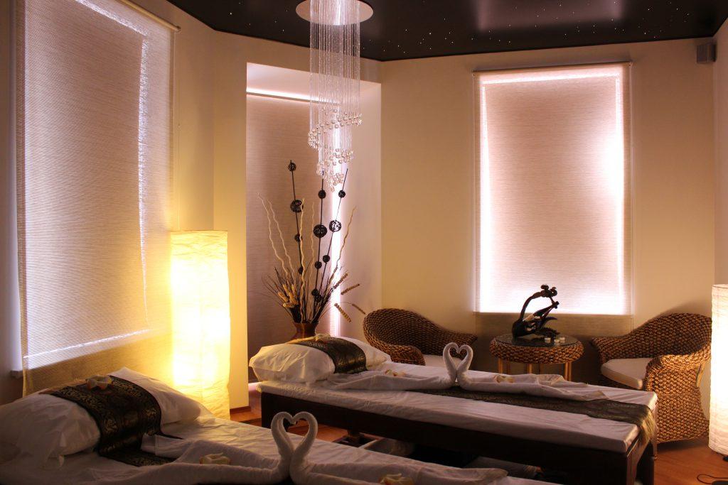 Дизайн салона массажа