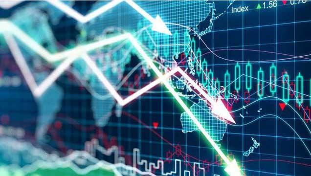 Меняющийся курс криптовалюты
