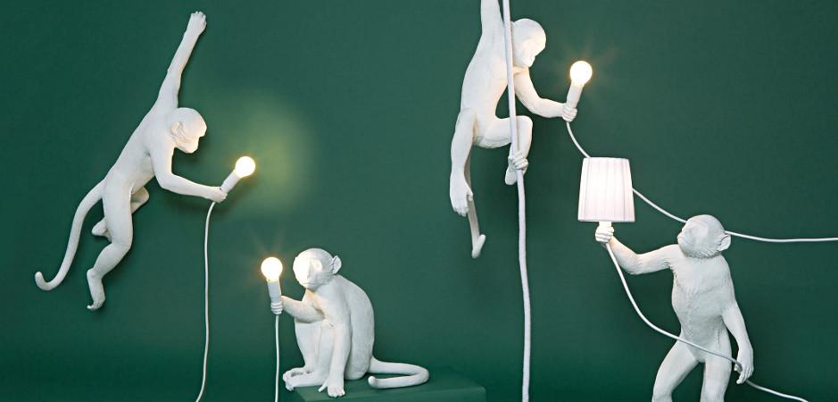 Светильники в виде животных