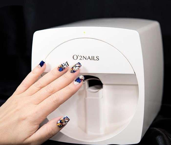 Черные Ногти Дизайн Фото Миндальной