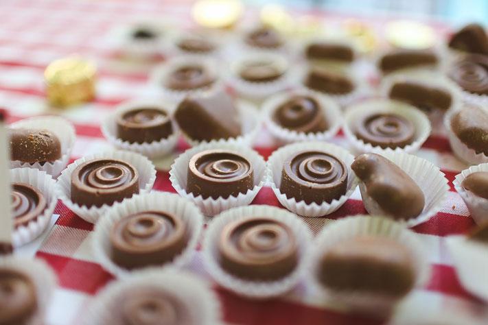 Оборудование для производства и продажи шоколада