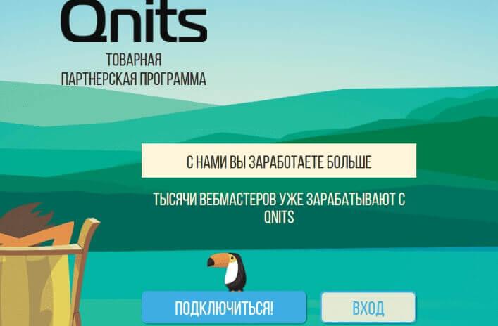 Пошаговый план запуска на примере сайта Qnits